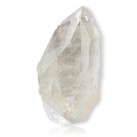 Cristal de roche poli en pointe