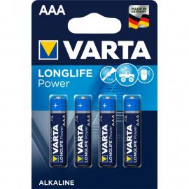 Pile AAA par blister de 4