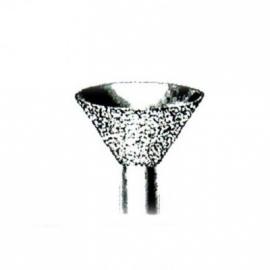 Fraise cône diamantée 9 mm
