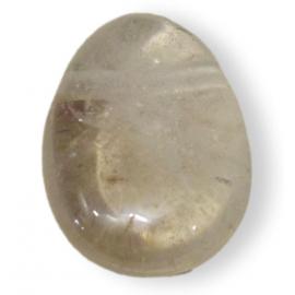 Pendentif Cristal de Roche sur lacet