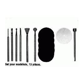 Jeu d'outils pour le modélisme