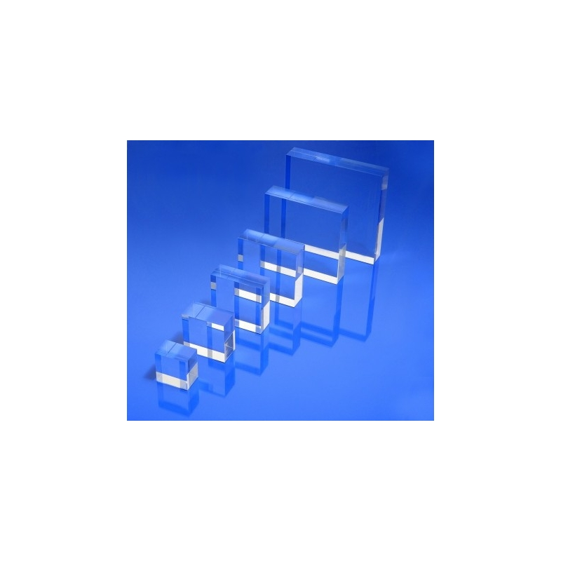 socle plexiglass carr 50x50x20 mm. Black Bedroom Furniture Sets. Home Design Ideas