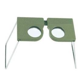 Stéréoscope de poche (grossissement : 4x)
