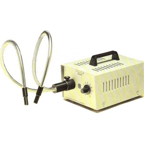 Source de lumière froide 100 Watt complet avec 2 bras autoportants