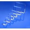 Socle plexiglas carré 30x30x20 mm