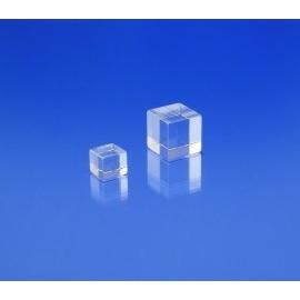 Socle plexiglas cubique 10x10x10 mm