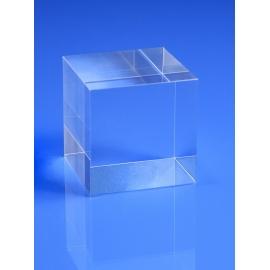 Socle plexiglas cubique 15x15x15 mm