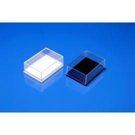 Boite plastique Jousi fond noir 82x59x23 mm