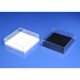 Boite plastique Jousi fond blanc 82x82x37 mm