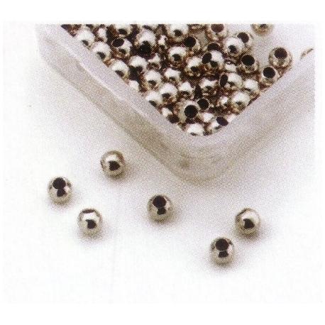 perles a ecraser en argent