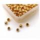Perles à écraser en vermeil, petite taille