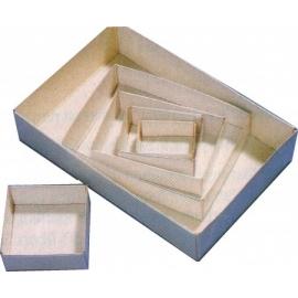 Boites modulaires premier prix de 60x60x25 mm