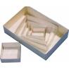 Boites modulaires 60x60x25 mm (paquet de 100 boites)