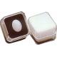 Boite carrée avec mousse blanche (19x19x14 mm)