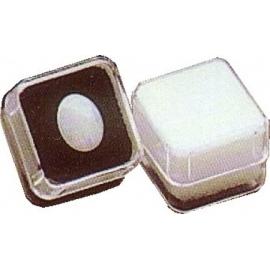 Boite carrée avec mousse noire  (19x19x14 mm)