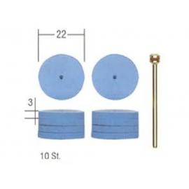 Jeu de 10 disques élastiques en silicone