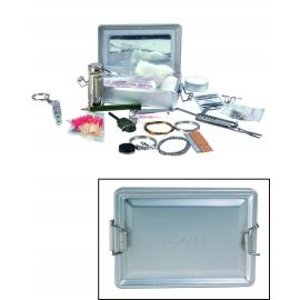 Kit de survie dans boite aluminium