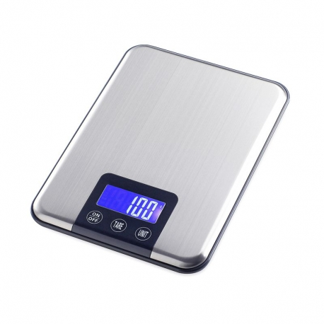 Balance électronique plateau (Maximum 15Kg, précision 1g)