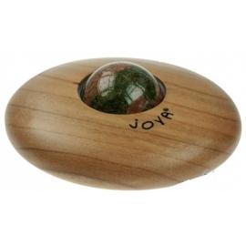Roller de massage de Joya en Unakite - Epidote