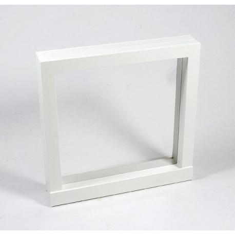 Vitrine de collection en aluminium 45 compartiments