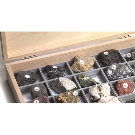 Collection de 40 minerais