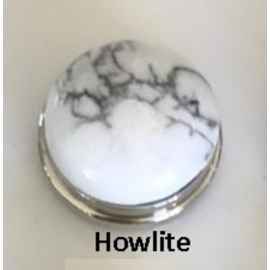 Cabochon en Howlite K-you