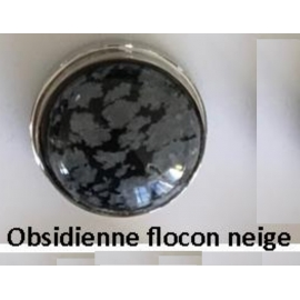 Cabochon en Obsidienne K-you