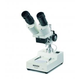 Microscope NOVEX AP4, tête inclinée 45° avec éclairage par incidence