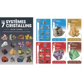 Jeu de 7 familles les 7 systèmes cristallins