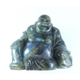 Bouddha en Labradorite
