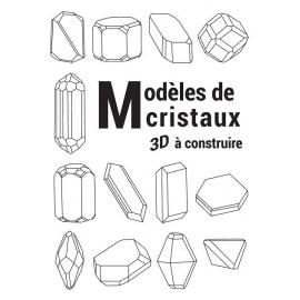 Livre de cristaux de cristaux à construire en 3D