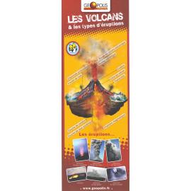 """Plaquette """" Les volcans & leurs types d'éruptions"""""""