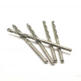 mèche diamantée hélicoïdale Ø 1.50mm