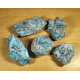 Apatite bleue brut