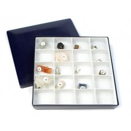 Collection de 25 cristaux naturels