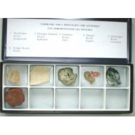 Collection de 15 cristaux naturels