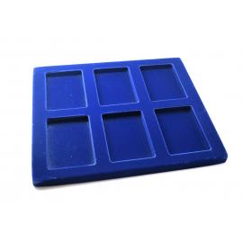 Intérieur TE pour 6 boites SE06 de 80x55x20 mm