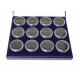 Coffret H17 avec 12 boites rondes SE01 de 27mm