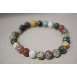 Bracelet en perles de Jaspe Océane