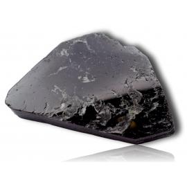 Tranche de tourmaline noire