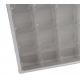 Vitrine de collection en aluminium