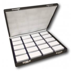 Etui de luxe avec 20 boîtes 53 x 33 x 12 mm