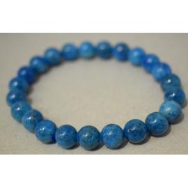 Bracelet en Apatite Bleue qualité A