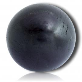 Sphère de tourmaline noire