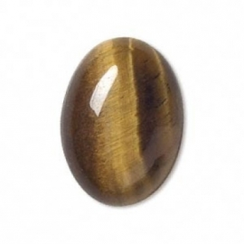 Oeil de tigre 18 x 13 mm