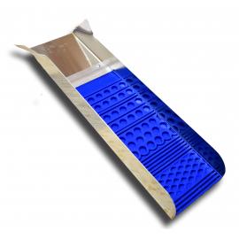Mini sluice 15 x 60 cm de prospection Poseidon Bleu