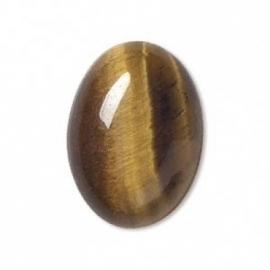 Oeil de tigre 7 x 5 mm