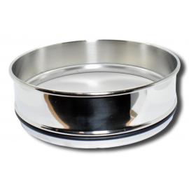 Cadre et tamis en acier inoxydable mailles de 0,063 mm