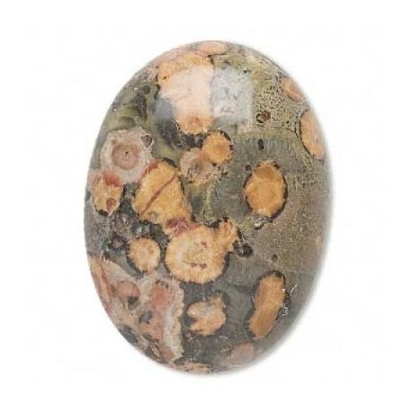 Peau de léopard 6 x 4 mm
