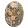 Peau de léopard 8 x 6 mm